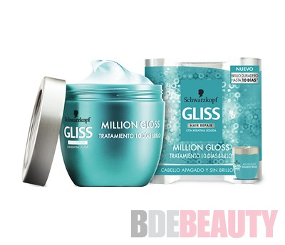 GLISS MILLION GLOSS Tratamiento 10 días Brillo