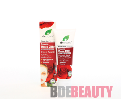 DR ORGANIC ROSE MASCARILLA FACIAL