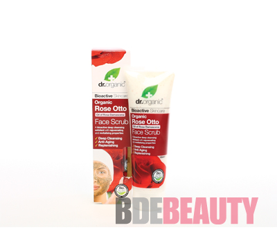 DR ORGANIC ROSE EXFOLIANTE FACIAL