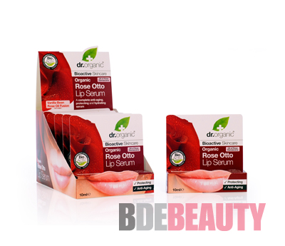 DR ORGANIC ROSE SERUM LABIAL